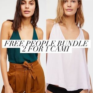 """Free People """"Carry Me Back"""" Cami X-Small"""